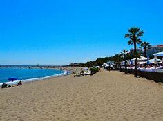 Spain - the beach at Peurto Banus