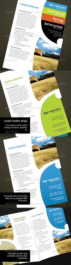 1000 images about print templates on pinterest flyer for Unique brochure templates