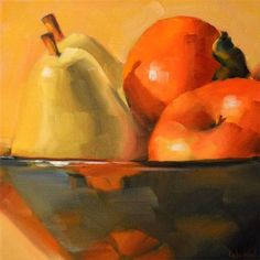 New fruit bowl illustration fine art Ideas