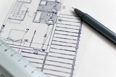 Architecture Blueprints, House Blueprints, Architecture Design, Architecture Office, Home Upgrades, Build Your Own House, Career Options, Gerard Way, House Layouts