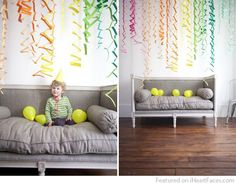 Zig Zag Accordion Streamers DIY- really easy and cute idea! Diys, Party Streamers, Birthday Streamers, Thinking Day, Partys, Art Party, Party Fun, Zig Zag, Paper Cutting
