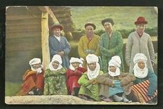 Kyrgyzstan-Kirghiz-Women-Men-Costume-Field-post-1917