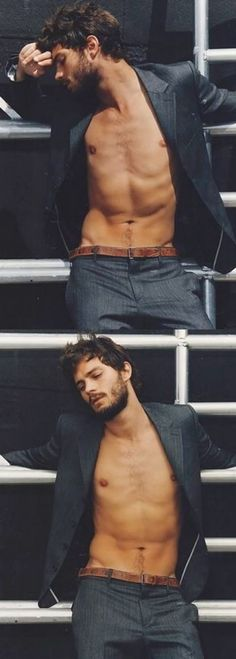 Jamie Dornan, Men's Fashion, Actor, Male Model, Good Looking, Beautiful Man, Guy, Handsome, Cute, Hot, Sexy, Eye Candy, Muscle, Hairy Chest, Abs, Six Pack, Shirtless (50 Shades Of Grey, 50 Shades Darker) ジェイミー・ドーナン メンズファッション 俳優 男性モデル