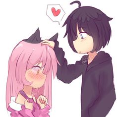 I'll SHIP Zane and Cawaii~Chan cuz they are a cute couple together! They need Esch other for live! Zane And Kawaii Chan, Zane Chan, Aphmau Kawaii Chan, Donut The Dog, Aphmau My Street, Aarmau Fanart, Aphmau Memes, Aphmau And Aaron, Minecraft Fan Art