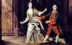 William Shakespeare 's Macbeth - David Garrick and Mrs. Pritchard as Macbeth and Lady Macbeth