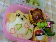 Bento is adorable but bento + Pokemon is just epic :D