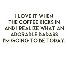 AMEN! Be an adorable badass today. <3