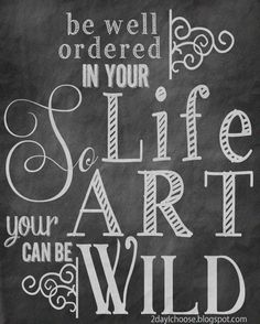 Chalkboard Art Free Printables | ... here to get a free 8x10 printable for your own art or writing space