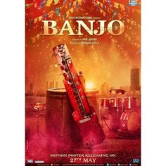 Presenting the teaser poster of an upcoming musical extravaganza of the year #Banjo. Starring Riteish Deshmukh & Nargis Fakhri. Motion Poster Releasing Tomorrow.  #BanjoPoster #RiteishDeshmukh #NargisFakhri #Eros #ErosInternational #poster #movieposter #firstlook #movie #film #celebrity #bollywood #bollywoodactress #bollywoodactor #bollywoodmovie #actor #actress #picoftheday #instapic #instadaily #instagood #filmywave