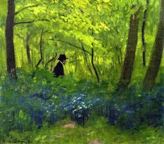 The Satyr in the Bois de Boulogne Felix Vallotton - 1904