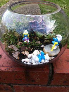 Smurfs Terrarium
