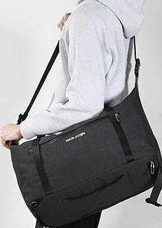 BagPrime Travel Bag Yoga Bag Lightweight bag Water Repellent bag Grey