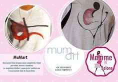 Prima presentazione maglie d'autore mum-art  MAXXI - con Mamme in Azione