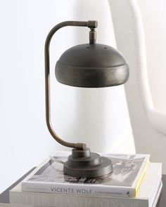 Mini Steampunk Lamp by Jamie Young modern table lamps...Basic shouldn't be boring!