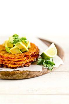 homemade carrot taco shells