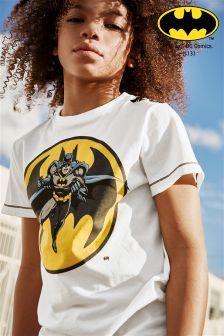 Ecru Batman® T-Shirt (3-14yrs)