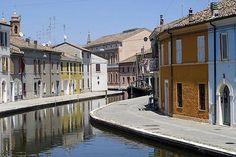 Comacchio, Italy- one of my favorite little towns in Italy...a mini version of Venice