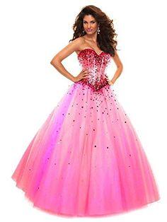 Carnivalprom Women's Sweetheart Beads Sequined Tulle Prom... http://www.amazon.com/dp/B01FANA6ZA/ref=cm_sw_r_pi_dp_5tRnxb0XKFP2T