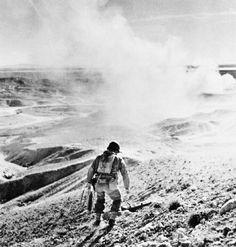 Robert Capa, An American Soldier - El Guettar