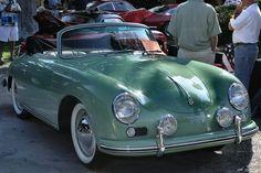 1956 Porsche 356A cabriolet - light green - fvr | Flickr - Photo Sharing!