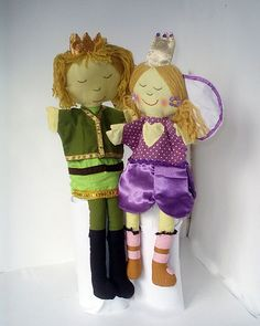 Sprookjes handpoppen / Fairytail puppets