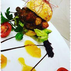 Mini Entenburger mit Mango Chutney und Rotkohlrelish und Ingwer Burger, Chutney, Tandoori Chicken, Mango, Ethnic Recipes, Food, Manga, Essen, Meals