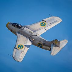 """zainisaari: """" Saab J 29 """"Tunnan"""" """"The Flying Barrel"""" The Saab J29 was the second indigenous jet fighter design produced after the Second World War for Sweden.The J-29 was produced between 1950 and 1956, a total of 665 were built """""""