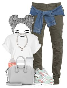✨ by je-mimi on Polyvore featuring polyvore, fashion, style, Topshop, DKNY, adidas Originals, Givenchy and Juicy Couture  |Lilshawtybad|