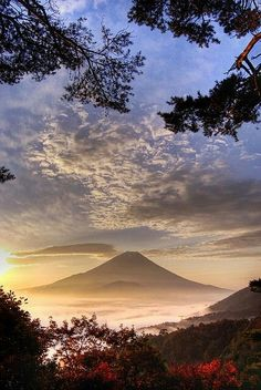 Sunrise at Mnt Fuji