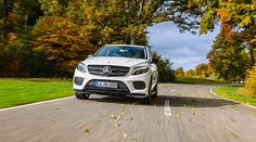 Front view of the GLE 450 AMG 4MATIC.
