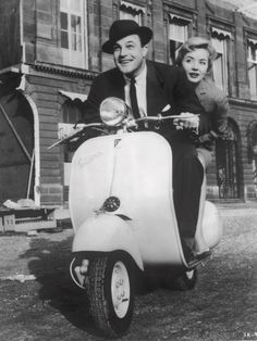 Gene Kelly riding a Vespa Moto Scooter, Scooter Girl, Piaggio Vespa, Lambretta Scooter, Vespa Motor Scooters, Performance Parts, Cool Bikes, Cars And Motorcycles, Vintage Motorcycles