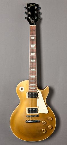 """Classic Gibson Les Paul Gold Top played in the last years by Aerosmith guitarist, Brad Withford • """"The other lead guitarist""""!!! gl"""