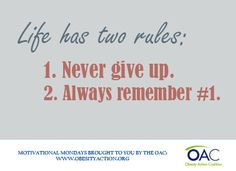 The Obesity Action Coalition (OAC) is a non-profit organization dedicated to giving a voice to individuals affected by the disease of obesity and helping them along their journey toward better health through education, advocacy and support. Quotes To Live By, Me Quotes, Motivation Wall, Wise Person, Classroom Quotes, Life Is A Gift, Life Guide, Truth Of Life, Some People Say