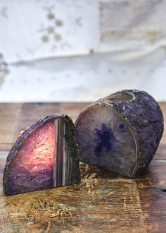 Agate Geode Candle Holder- so pretty!