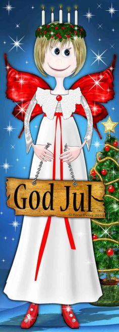 God Jul Fairy