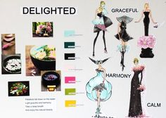 [Delighted] Moodboard by IFA Paris 1st year student Xin