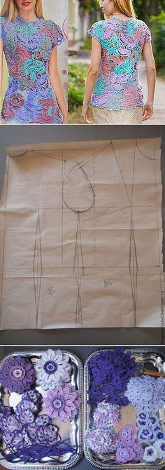 How do I create a model for Irish lace...♥ Deniz ♥