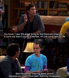 OMG! i luv sheldon! and the big bang theory!