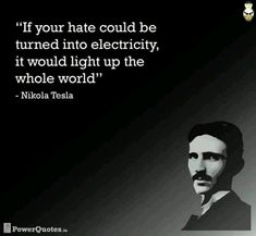 Nikola Tesla on hate --> paid per lead gets me 800 a day yo 800PerDay.com