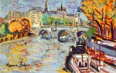 Paris Landscape Paintings by French Artist Maurice Empi Spanish Artists, French Artists, Figure Painting, Contemporary Artists, Impressionism, Art History, Still Life, Landscape Paintings, Fine Art