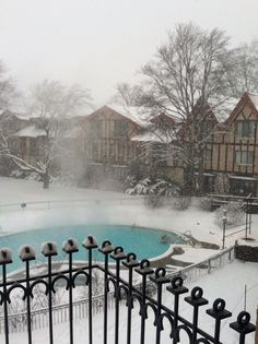 Boyne Highlands heated pool