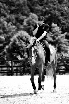 There is nothing more attractive than a man that can ride a horse ❤