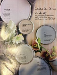 Love gray-want to use this inside and out!