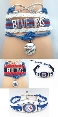 Do you love the Blue Jays? Then we made these sporty Toronto Blue Jays baseball bracelets just for you. Don't miss our sales event going on now.