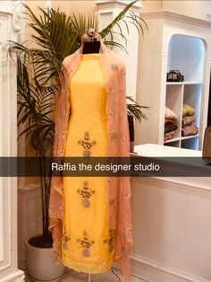 Embroidery Suits Design, Embroidery Designs, Punjabi Suits Party Wear, Punjabi Wedding, Indian Suits, Indian Designer Wear, Traditional Outfits, Display, Colour