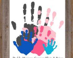 Parent/Child/Grandparent/Father's Day/Child von CreationsbyTamiLynn