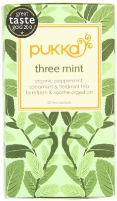 Pukka Organic Teas, Three Mint, 20 Count by Pukka -- Awesome products selected by Anna Churchill