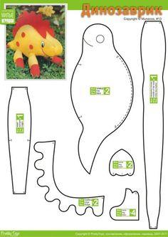Pretty Toys Patterns, Felt Patterns, Craft Patterns, Sewing Toys, Sewing Crafts, Sewing Projects, Stuffed Animal Patterns, Diy Stuffed Animals, Diy For Kids