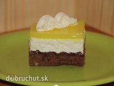Tvarohové rezy so želatínou - Úžasný koláč
