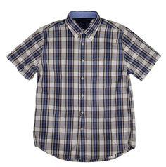 Tommy Hilfiger Mens Casual Button Down Shirt Blue / White Plaid Size M NEW #TommyHilfiger #ButtonFront